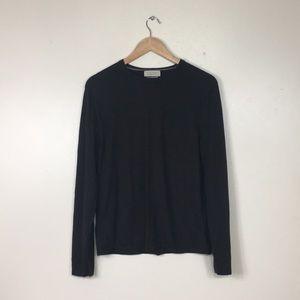 Banana Republic Silk Cashmere Brown Sweater